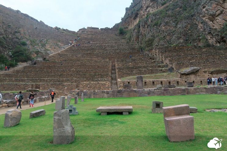 ruinas ollantaytambo vale sagrado
