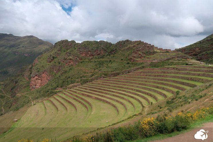 pisaq vale sagrado incas peru
