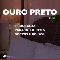 3 pousadas em Ouro Preto para diferentes gostos e bolsos
