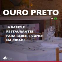 10 bares e restaurantes para beber e comer em Ouro Preto