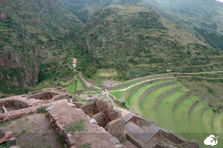 ruinas sitio arqueologico pisac vale sagrado