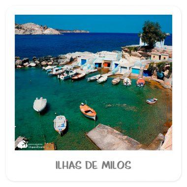 verão europeu ilha de milos