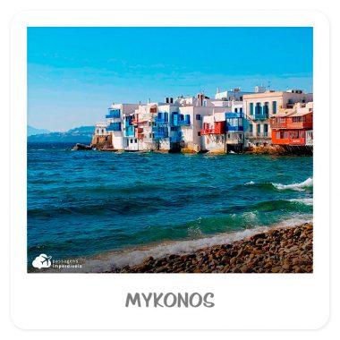 verão europeu mykonos