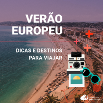 Verão europeu: dicas de destinos para a sua viagem