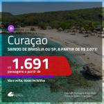 Promoção de Passagens para <b>CURAÇAO</b>, saindo de Manaus a partir de R$ 1.691! Saindo de Brasília, São Paulo e outras origens, a partir de R$ 2.071! Ida e volta, c/ taxas!