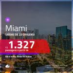 Promoção de Passagens para <b>MIAMI</b>! A partir de R$ 1.327, ida e volta, c/ taxas!