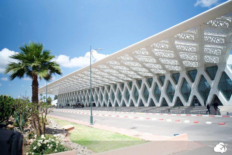aeroporto marrakech