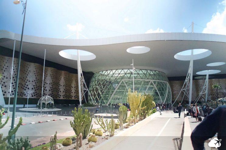 aeroporto de marrakech marrocos