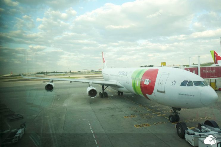 aviao tap portugal marrocos