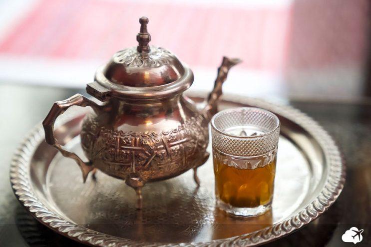 cha de menta marrocos