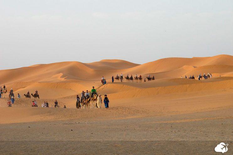 deserto saara mezourga marrocos
