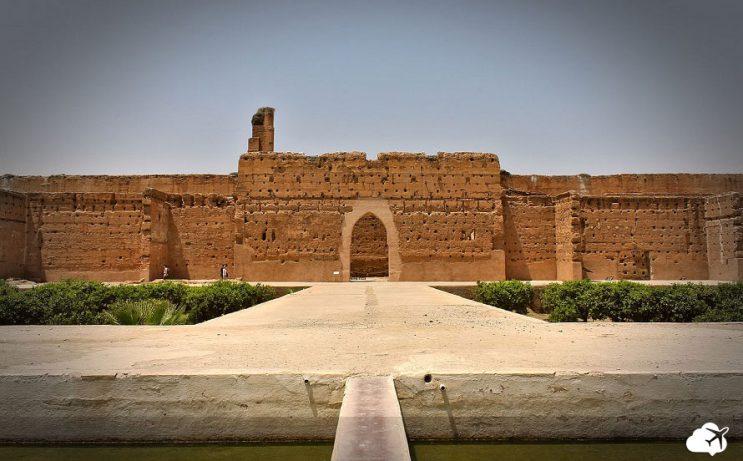 el badi palace marrakech marrocos