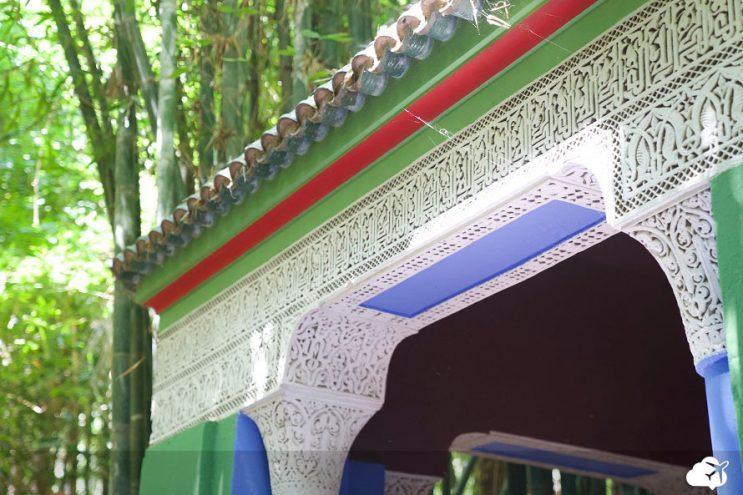 jardim majorelle marrakech marrocos