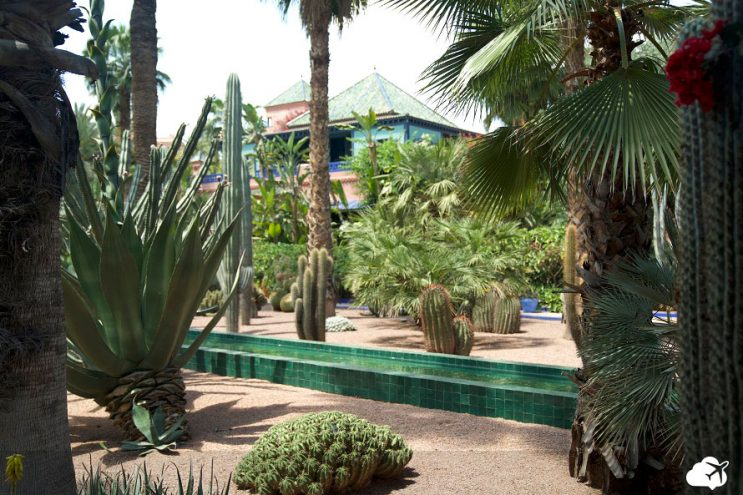 jardim majorelle marrakech