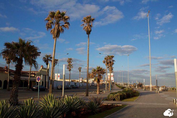 praia casablanca marrocos