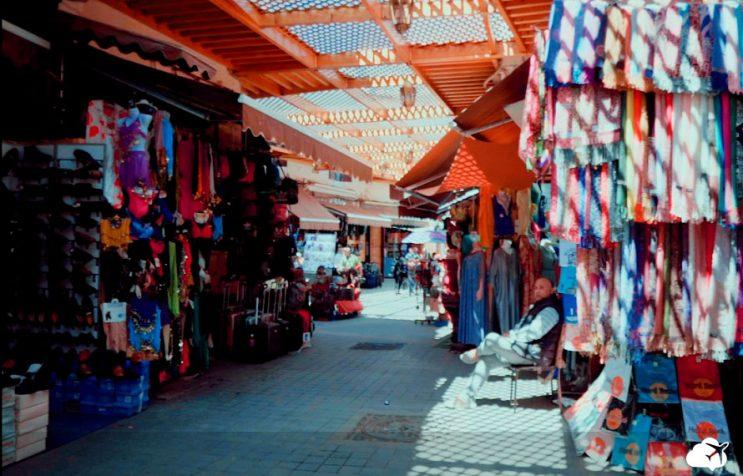 medina de casablanca marrocos
