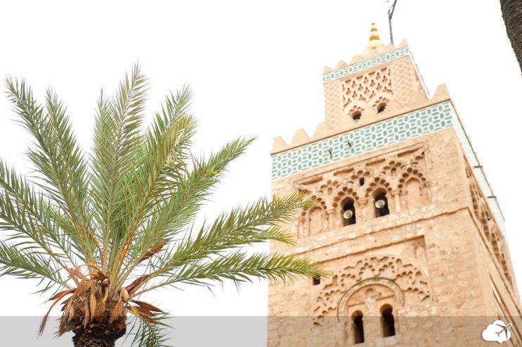 mesquita koutoubia marrakech marrocos