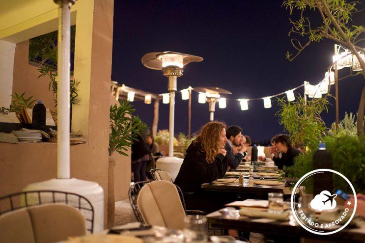 restaurante nomad marrakech marrocos