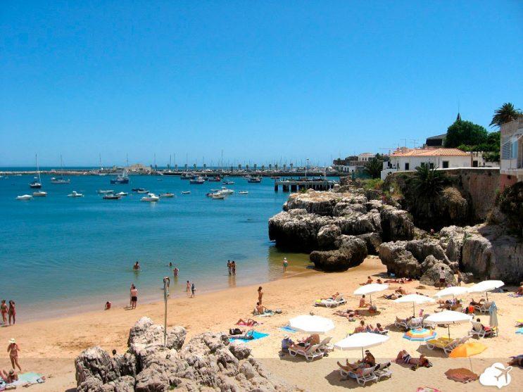 praia cascais portugal