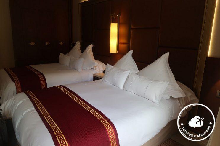 quarto quádruplo hotel peru