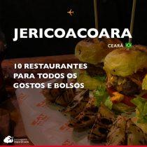 10 restaurantes em Jericoacoara para todos os gostos e bolsos