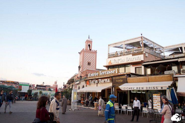 restaurantes em marrakech