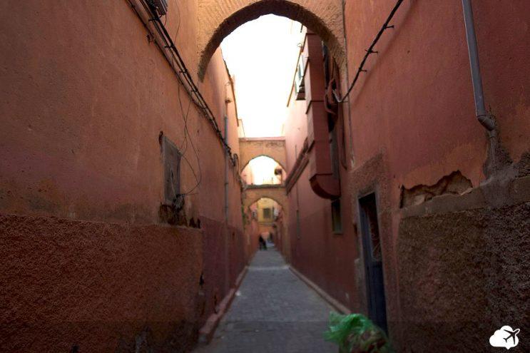 rua na medina marrocos