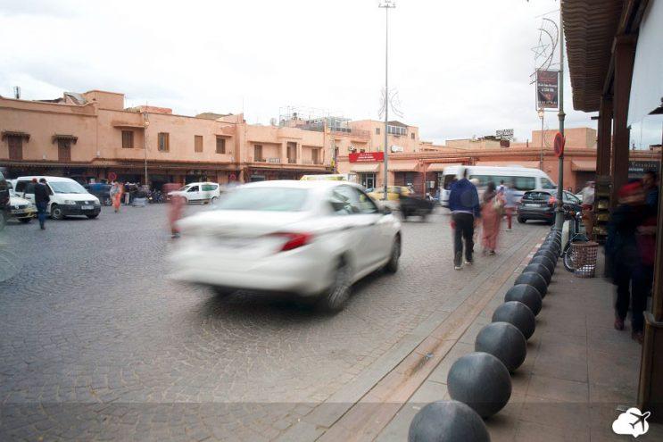 taxi no marrocos