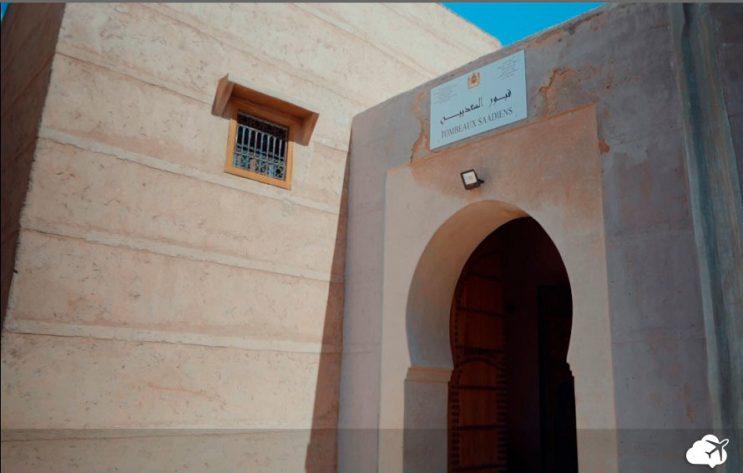 tumulos saadianos marrakech