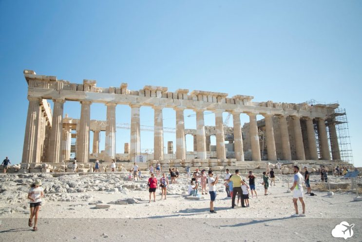 pathernon acropolis grecia