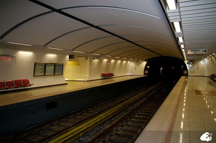 metro em atenas grecia