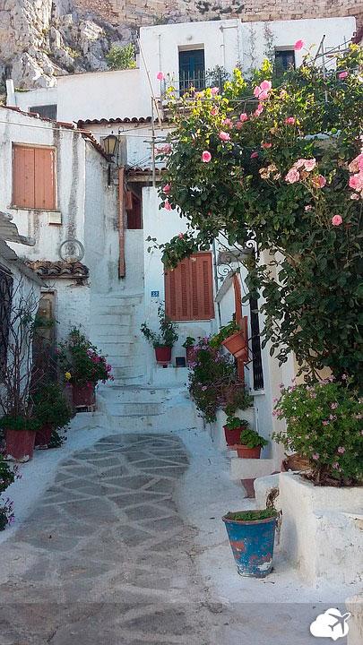 bairro plaka atenas grecia