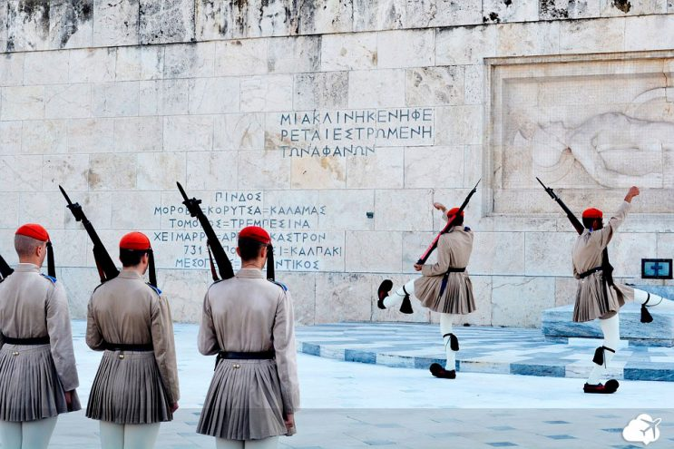 guardas gregos praca syntagma
