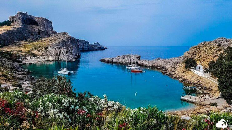 rhodes ilha na grecia