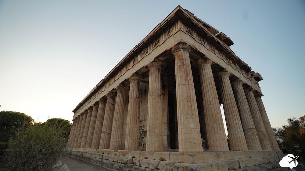 templo efesto atenas grecia