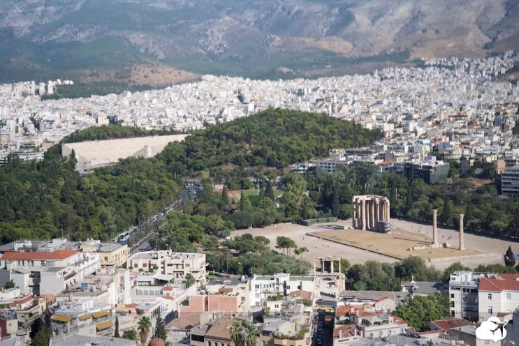templo zeus olimpico atenas