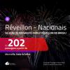 Seleção de Passagens para <b>RÉVEILLON no BRASIL</b>! A partir de R$ 202, ida e volta, c/ taxas!