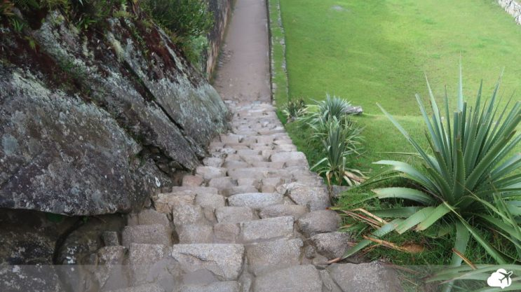 escada em machu picchu