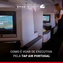 Como é voar na classe executiva da TAP Air Portugal