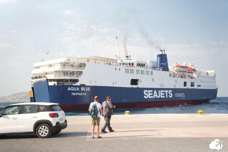 ferry ilhas gregas