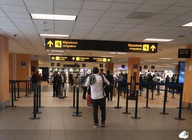 Imigração em Lima mochilão america do do sul