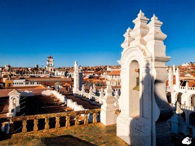 """""""Cidade Branca"""", em Sucre"""