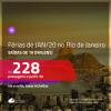Promoção de Passagens para as <b>FÉRIAS DE JANEIRO/20 no RIO DE JANEIRO</b>! A partir de R$ 228, ida e volta, c/ taxas!