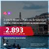 Promoção de Passagens 2 em 1 – <b>ISRAEL: Tel Aviv + PARIS ou AMSTERDAM</b>! A partir de R$ 2.893, todos os trechos, c/ taxas!