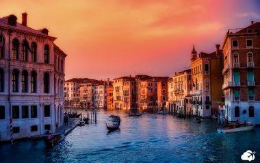 passeio de gôndola em veneza lua de mel