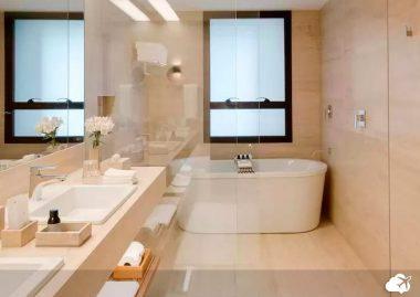 banheiro hotel fasano em belo horizonte