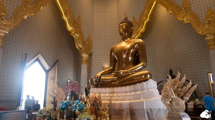 wat traimit, templo do buda de ouro - templos budistas de bangkok