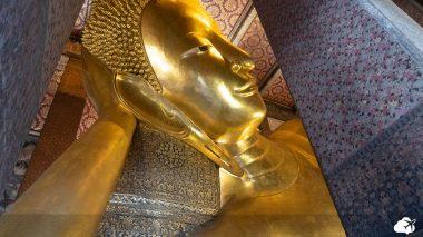 templo do buda deitado - templos budistas de bangkok