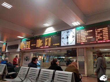 estação de trem madri espanha