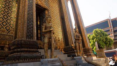 o templo do buda esmeralda no grand palace
